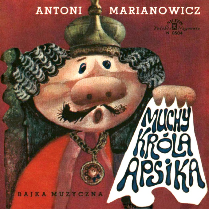"Bajki-Grajki nr 22 ""Muchy Króla Apsika"""