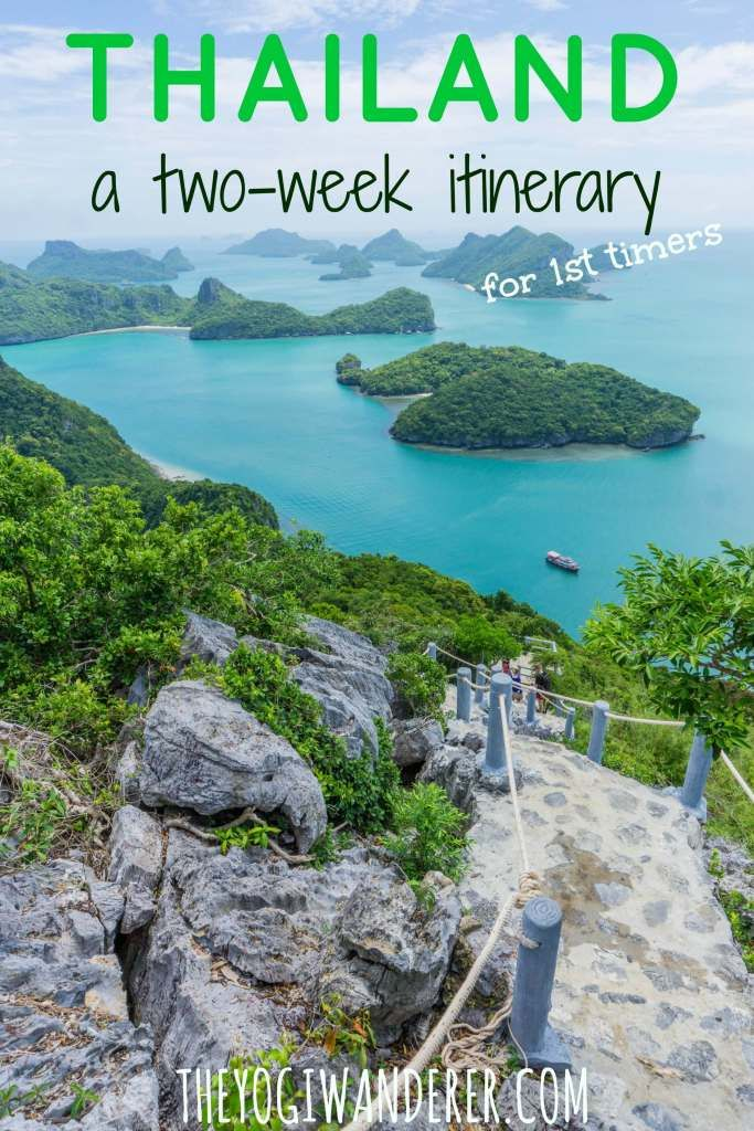 #Thailand: a two-week #travel itinerary for first-timers