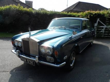 1972 Rolls Royce Silver Shadow I #VCI #vintagecars #classiccars