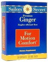 Sailors' Secret Premium Ginger Capsules
