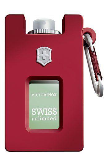 Victorinox Swiss Army 'Unlimited' Eau de Toilette Rubber Spray (Refillable) 2.5 oz