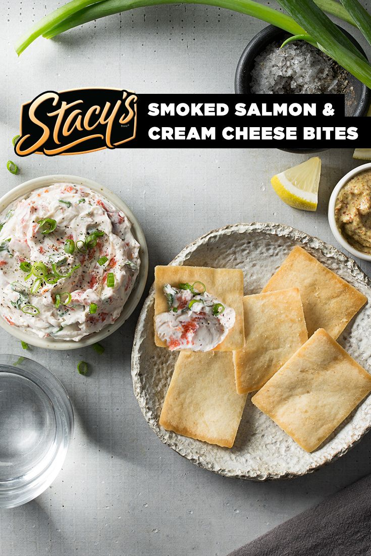 Smoked Salmon and Cream Cheese Bites from James Beard Award-winning chef Hugh Acheson. Inspired by the waters of the Pacific Northwest in celebration of our trip to Portland. This simply delicious spread is the perfect anytime snack or a great brunch bite.