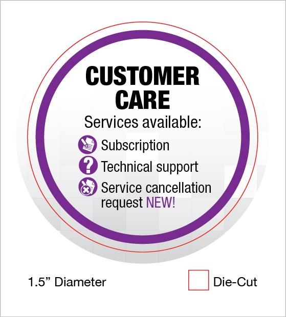 our customer care pledge