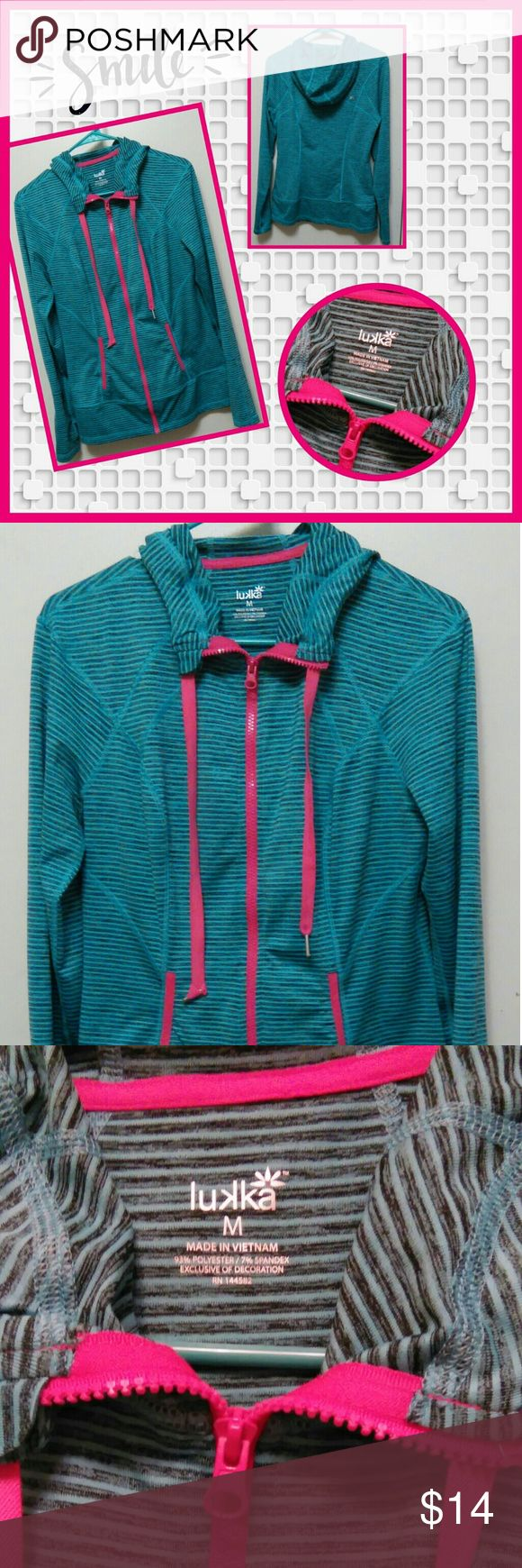 Fitness hoodie From Lakka... Sz med.... Like new.... No flaws... So comfortable.... Smoke free home lakka Tops Sweatshirts & Hoodies