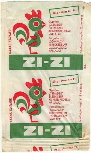 Hungarian retro sweets, Zizi