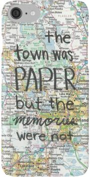 Paper Towns case iPhone 7 Cases