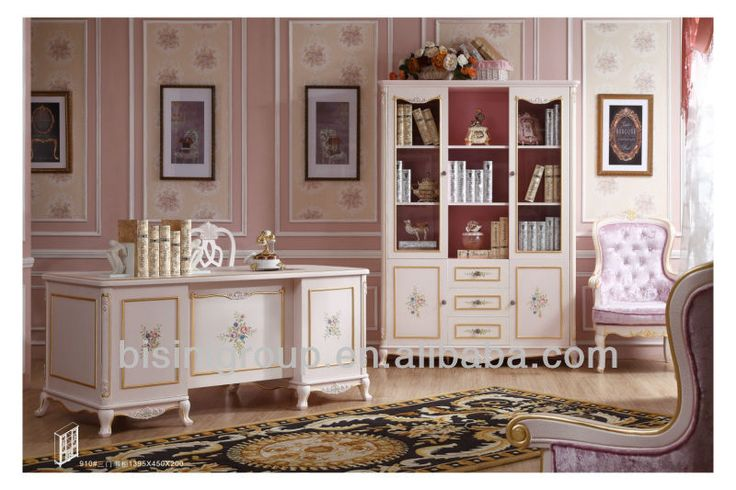 Euorope Style Princess Pink Collection Kids Bedroom Furniture,Pink Child…