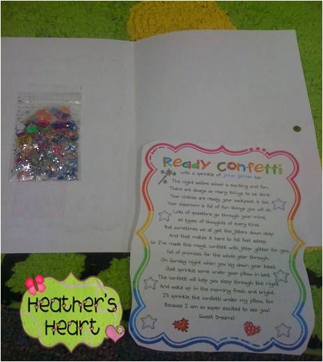 Heather's Heart: Ready Confetti and Birthday Bubbles