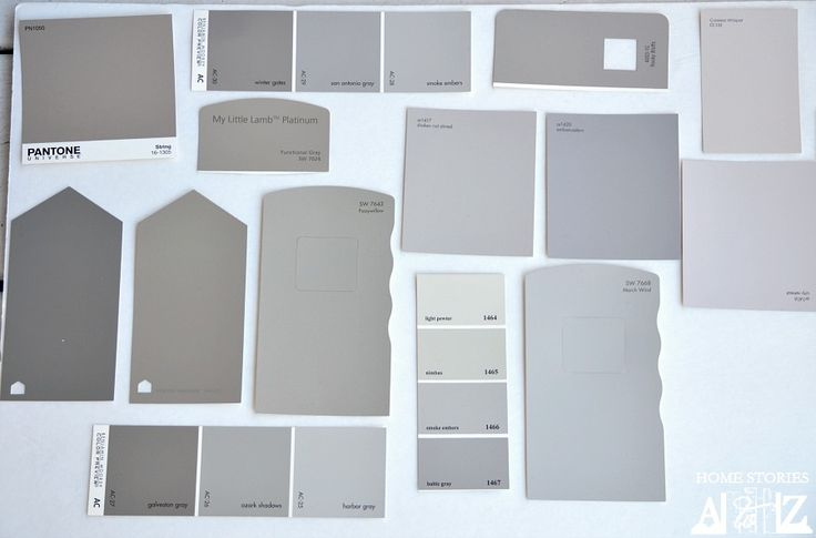 Choosing the right gray paint: color ideas, tips, and examples