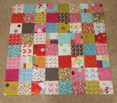 Quilt from a charm pack