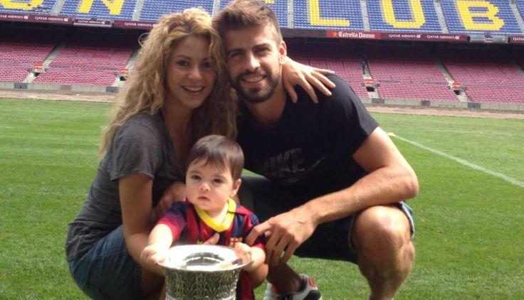 #Shakira y #GerardPique celebraron el título de la Supercopa de España junto a su hijo #Milan . #Depor