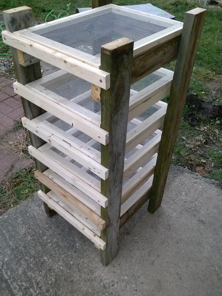 Hey Everyone! I wanted to show off my latest project, a DIY Soap Rack that I made for curing and storing our handmade soaps! Once we have a test batch done, our soaps will go up for sale in our Ets…