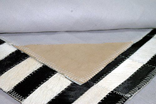 Kuhfell Patchwork Teppich Tapis en Peau de Vache Tappeto di pelle di mucca Cow Hide Rug Alfombra Piel de Vaca Patchwork (180 cm x 120 cm)
