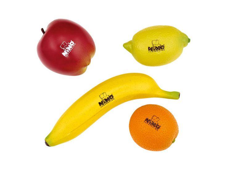 Shakery botaniczne Fruit Shaker NINO | Instrumenty muzyczne \ Instrumenty perkusyjne \ Perkusjonalia PREZENTY \ Dla Dziecka | Sprzet-Dyskotekowy.pl - największy i najtańszy sklep internetowy z oświetleniem i nagłośnieniem w Polsce