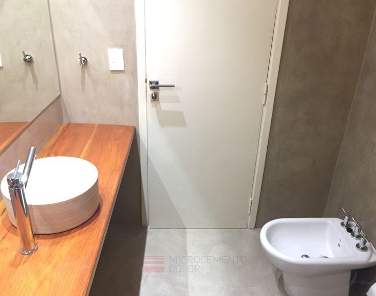 Las 25 mejores ideas sobre pisos de microcemento en - Microcemento sobre azulejos ...
