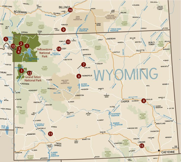 Things to do in Wyoming and Montana
