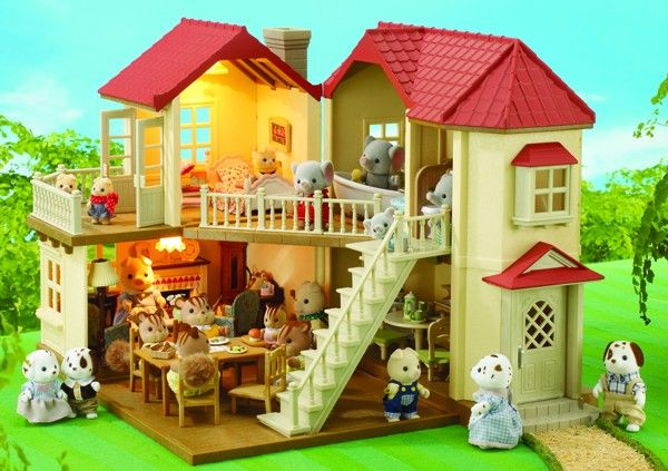 Sylvanian Families - Beechwood Hall. We love Entropy Toys! My family have been shopping with Entropy Toys for years. The quality and range of products is hard to beat and customer service is fantastic; you won't find such exclusive gifts at department store chains. Help our family to share quality moments this Christmas with quality toys. #EntropyWishList and #PinToWin