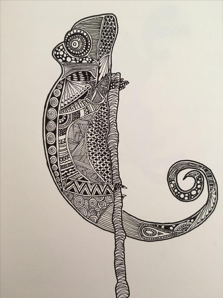 Black ink Chameleon 4.8.16