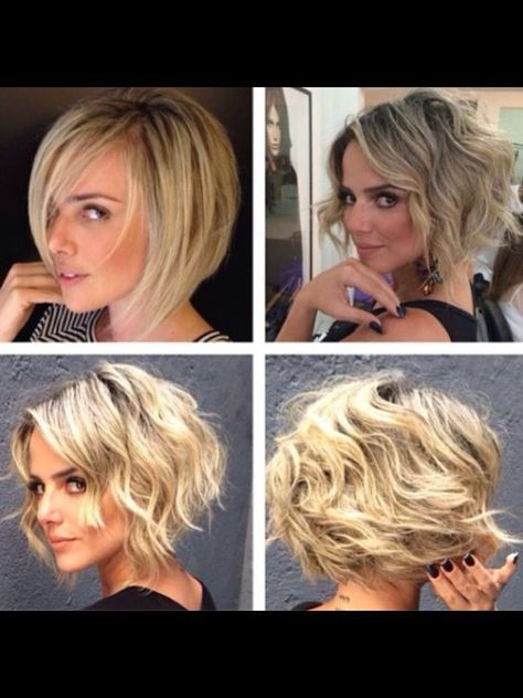 38 Super Cute Ways to Curl Your Bob – PoPular Haircuts for Women 2019