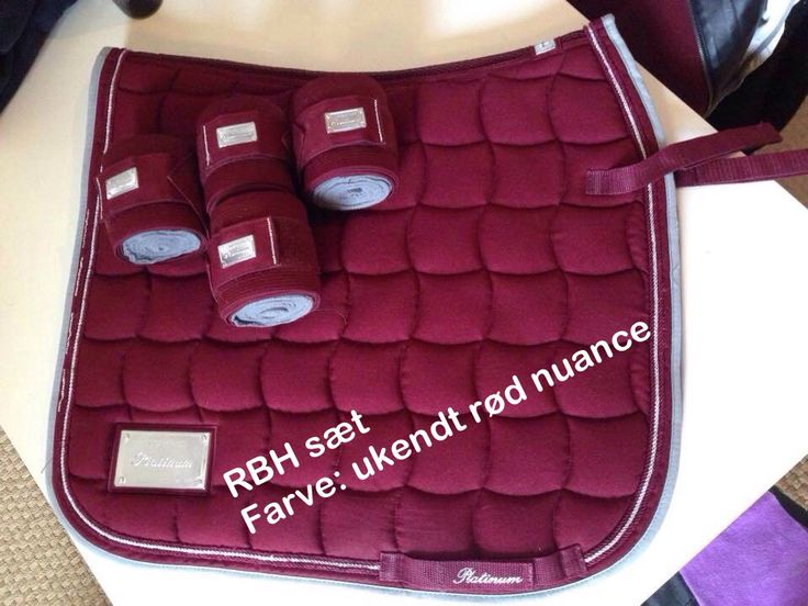 Rødt sæt fra RBH