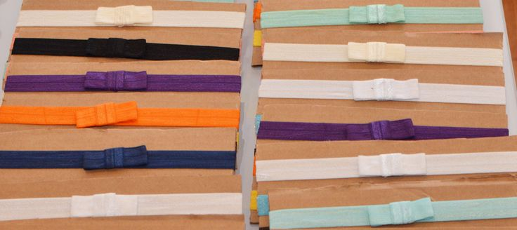 DIY FOE Headbands with Bows with sizes/measurements