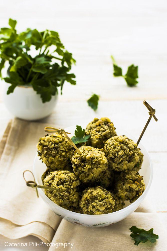 polpette con fagioli verdi mung e cous cous|ricetta vegana