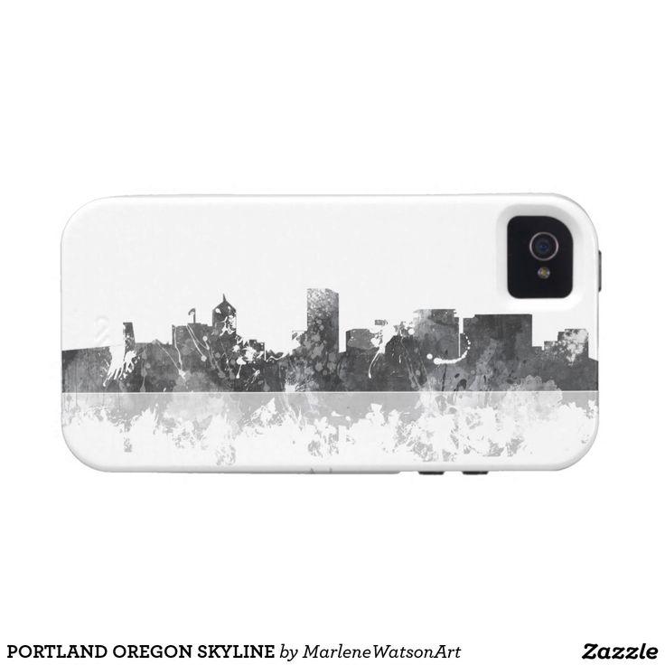 PORTLAND OREGON SKYLINE iPhone 4/4S COVERS