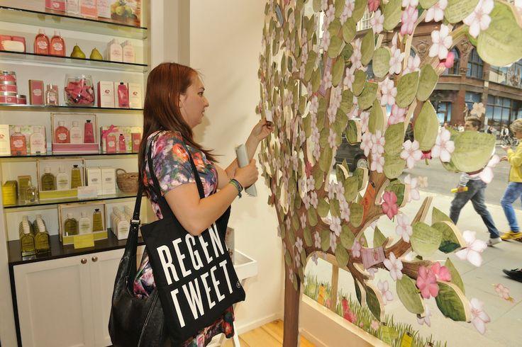 @Crabtree & Evelyn UK #CrabtreeHandyTips #RegentStreet #RegentTweet