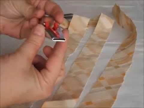 Truco para cortar y hacer la cinta de bies (sesgo) en casa. #costura #trucos