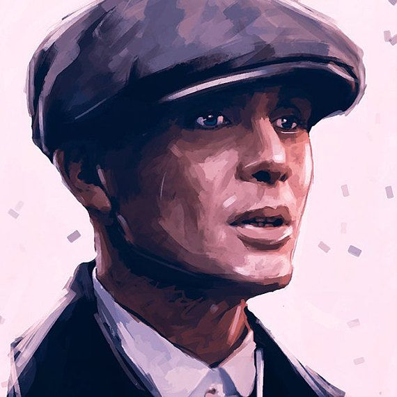 thomas shelby poster peaky blinders