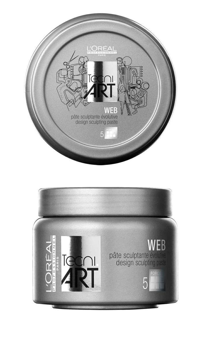 L'Oréal Professionnel Tecni.ART Web design sculpting paste 150ml.