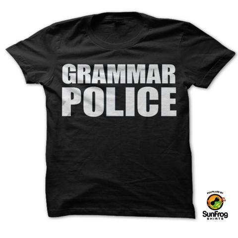 Grammar Police  |t shirts with sayings | | t shirts funny | | tshirts | | fashion | | clothing | | t-shirts refashion | | t-shirts ideas | |  cool t-shirts  | |clothing for teens | | clothing fashion | | clothing and style |  https://www.locket-world.com/