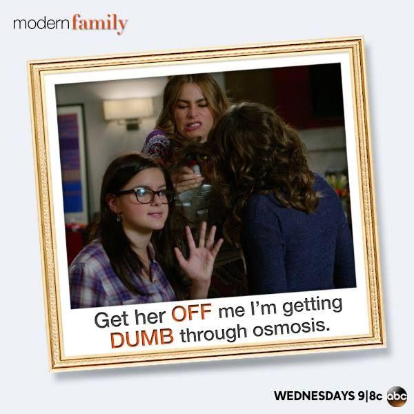 """""""Dumb through Osmosis"""" ~ Modern Family ~ Season 5 ~ Quotes"""