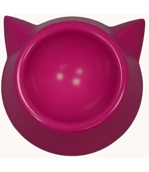 Gamelle rose Tête de chat 250 ml - Camon