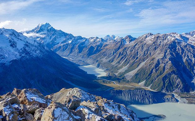 New Zealand has topped the Telegraph Travel awards as the world's best places to visit