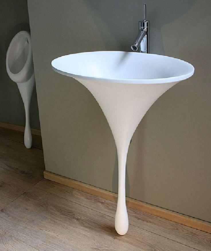 Creative White Pedestal Sinks For Small Bathrooms ~ Http://lanewstalk.com/
