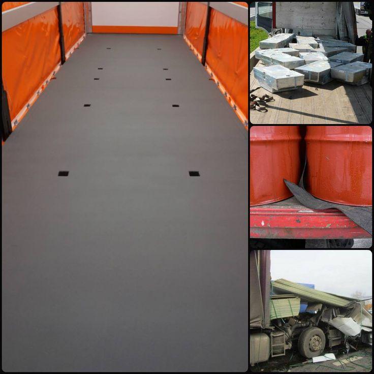 Unser KCN-01er Boden sichert die Ware am Boden. Es muss lediglich gegen Wandern und Kippen gesichert werden.