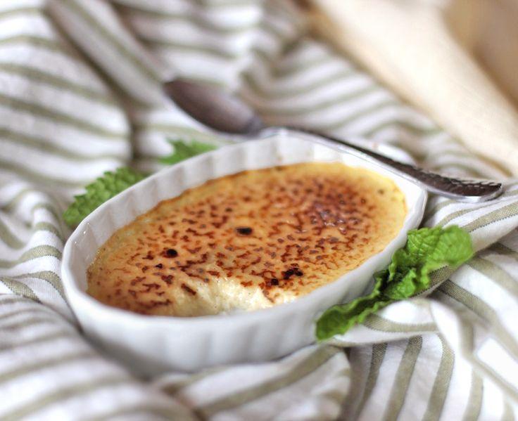 Healthy Crème Brûlée | Recipe | Creme Brulee, Healthy and Desserts