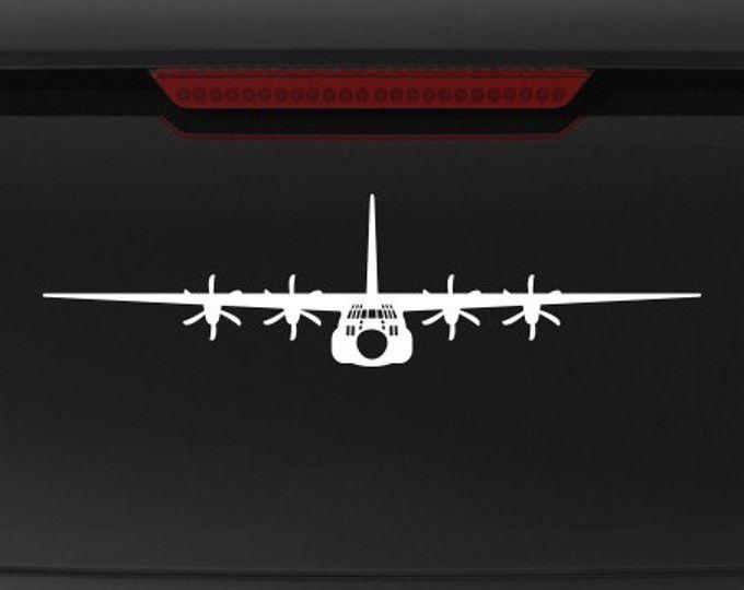 C 130j Super Hercules Front View Vinyl Decal Decals