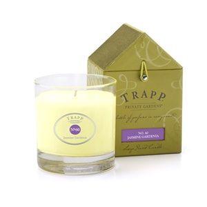 No 60 Jasmine Gardenia - 7oz Poured Candle | Trapp Candles