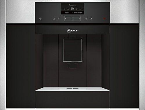 Neff CKS 1561N Machine à café encastrable / 59,60cm / Température de filtration optimale et plein arôme avec le système SensoFlow / Acier…