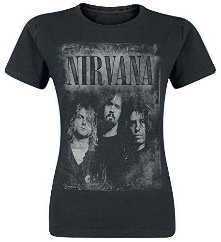 nirvana t shirt femme