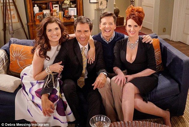 'Vote, honey!'Will & Grace's Debra Messing, Eric McCormack, Sean Hayes, and Megan Mullally reunited to boost voter turnout in a video shared Monday