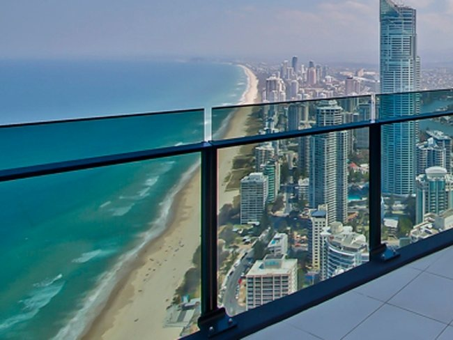 Sea Temple Surfers Paradise is in the mulitmillion dollar Soul complex in the Gold Coast. The luxury apartments have fully-furnished balconies and floor-to-ceiling windows. Picture: Sea Temple Surfers Paradise. #Australia.....   Staying here this weekend for our 13th wedding anniversary...  So excited