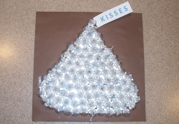 The Hershey Kiss!  My son's 100th day of school project.