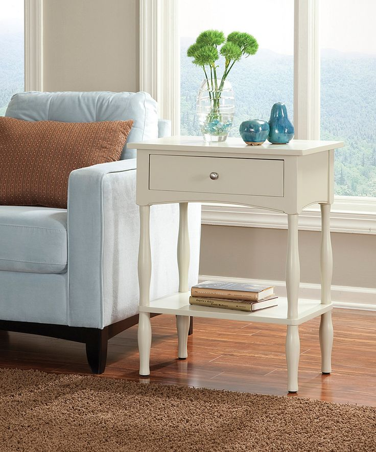 This Sand Shaker Cottage End Table By Alaterre Furniture Is Perfect!  #zulilyfinds