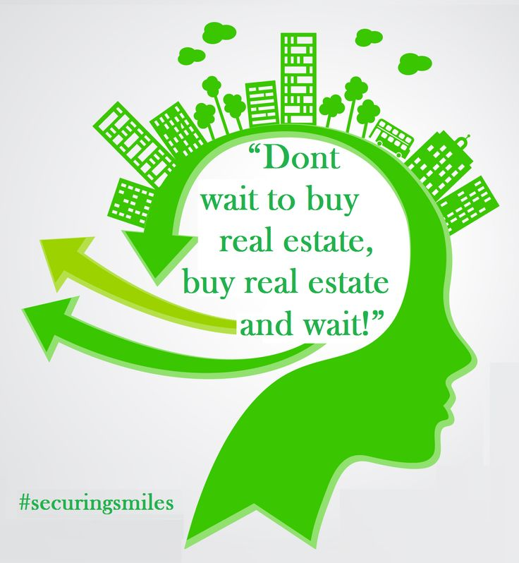 Don't wait to buy real estate, buy real estate and wait !  #infographics #realestate  #quotes http://imperiastructures.com
