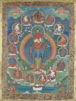 Thangka depicting Padmapani Tibet/Nepal, 19th Century