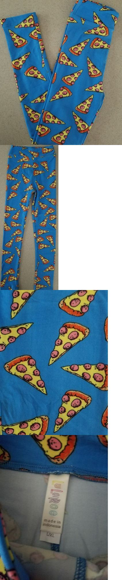 Leggings 152719: Lularoe Bnwot Children S L Xl Pizza Leggings -> BUY IT NOW ONLY: $30 on eBay!