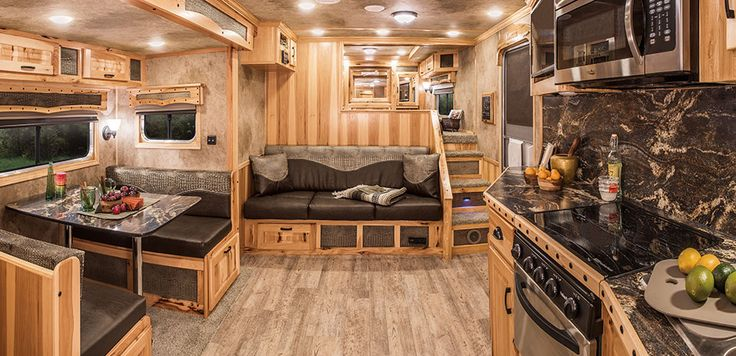 1000 ideas about horse trailers on pinterest horses for for Rv barn with living quarters